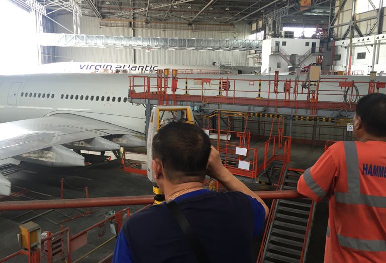 Repair Warehouse for Passenger Plane @PAL