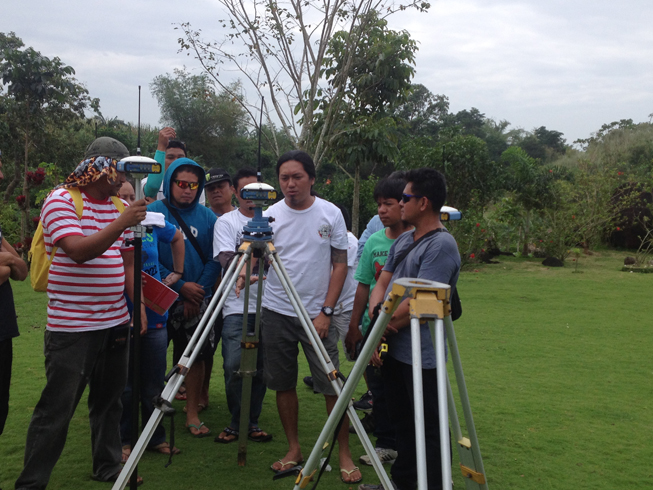 Joint Delivery & Training of GNSS RTK (2)
