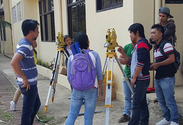 GNSS RTK & Total Station Delivery and Training to Mountain Province State Polytechnic College