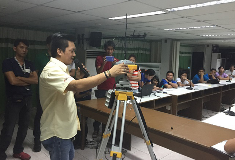 GNSS RTK & Total Station Resource Speaking, Delivery & Training @Department of Agriculture Pampanga