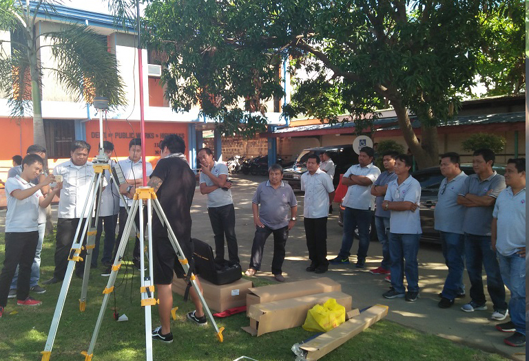 Delivery & Training to DPWH Laoag Ilocos Norte