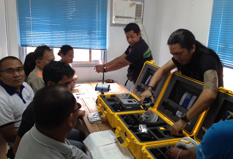 GNSS RTK Delivery & Training to ALC Group of Companies: Carrascal Nickel Corporation, Western Shore Nickel Corporation & Core Mining Corporation